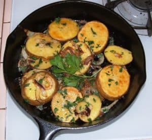 Potato Lyonnaise Recipe, Texas Wine Style