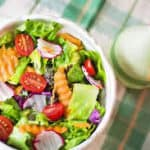 Spinach Cantaloupe Salad Recipe