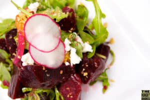 Roast Beets with Goat Cheese Recipe