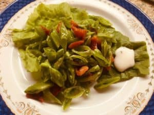 Fresh Sugar Snap Pea Salad Recipe