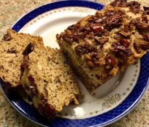 Date Nut Bread Recipe with Jujube (Chinese red Date)